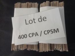 1lo - A435 PARIS Lot De 400 CPA / CPSM Format CPA PARIS Dep 75 - 100 - 499 Postcards