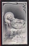 Lodewijk Kennes Gemeente Secretaris Ramsel 1911 Lithographie Silverprint Bidprentje Doodsprentje Image Mortuaire - Devotion Images
