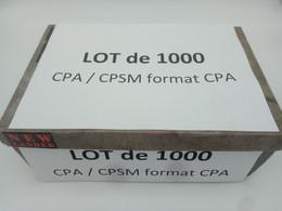 1lo - A453 PUY DE DOME LOT 1000 CPA / CPSM Format CPA PUY DE DOME Dep 63 - 500 Postcards Min.