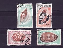 NC LOT 1971 Coquillages Obli C413 - Lots & Serien