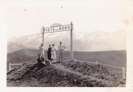 Photo  8.7 X 6.00 - SUPERBAGNERES - Depart De La Piste De Bobs (31 ) Aout 1934 - Places