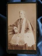 Photo CDV Doisen à Paris - Religion Cardinal Circa 1890 L550-6 - Ancianas (antes De 1900)
