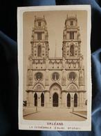 Photo CDV Alphonse Gatineau à Orléans - Orléans La Cathédrale, église Ste Croix, Circa 1880 L550-6 - Ancianas (antes De 1900)