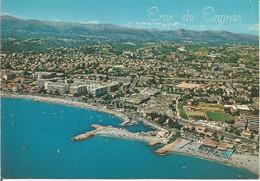 CROS DE CAGNES. Vue Générale Aérienne.  (scan Verso) - Cagnes-sur-Mer