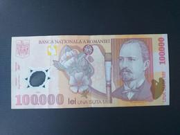 ROUMANIE 100000 LEI 2001.polymère - Romania
