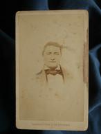 Photo CDV Alphonse Bernoud à Lyon - Homme Portrait Nuage, Circa 1870-75 L550-6 - Ancianas (antes De 1900)