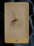 Photo CDV Victoire à Lyon - Prêtre, Curé, Le Père J.M. Perrier, En 1872 L550-6 - Ancianas (antes De 1900)