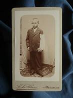 Photo CDVA. Le Blanc à Besançon -  Jeune Communiant Vers 1895 L550-6 - Ancianas (antes De 1900)