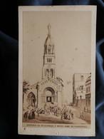 Photo CDV J.B. Gadola à Lyon - Souvenir Du Pélerinage à Notre Dame De Fourvières, Second Empire, Circa 1865 L550-6 - Ancianas (antes De 1900)