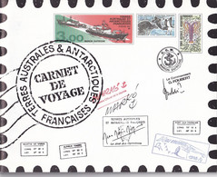 TAAF - Carnet De Voyage 1999 Avec Les 12 Feullets TTB Sous La Faciale - Neufs