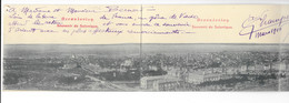 Souvenir De Salonique - Carte Panorama 4 Volets - édit.   + Verso - Grecia