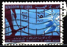 Libya 1963 Mi 140 15th Anniversary Declaration Of Human Rights - Libya