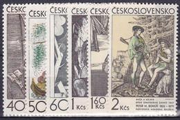 ** Tchécoslovaquie 1971 Mi 1981-6 (Yv 1825-30), (MNH) - Unused Stamps