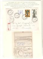 12REF/ TP 1587 Baudouin Elström-1852-1855 S/L.Recommandée C.Relais-Etoile-Halte Thommen 17/5/77 Label Burg-Reuland > BXL - Bolli A Stelle