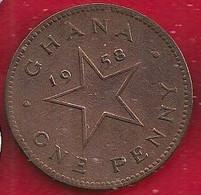GHANA 1/2 PESEWA - 1958 - Ghana