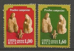 COSTA RICA PA Yvert N° 755 Et 756 NEUF** SANS CHARNIERE / MNH - Costa Rica