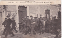 Le Chapus, Arrivée à La Gare Des Prisonniers Allemands - Altri Comuni