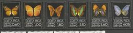 COSTA RICA PA Yvert N° 739 à 744 NEUF** SANS CHARNIERE / MNH - Costa Rica