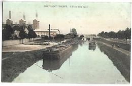 PONT SAINT VINCENT - L'usine Et Le Canal  - PENICHE - Altri Comuni