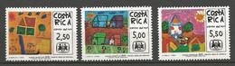COSTA RICA PA Yvert N° 747 à 749 NEUF** SANS CHARNIERE / MNH - Costa Rica