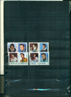 S.VINCENT ELVIS PRESLEY 8 VAL SURCHARGES SPECIMEN NEUFS A PARTIR DE 1,25 EUROS - St.Vincent (1979-...)