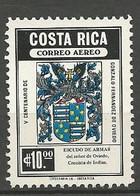 COSTA RICA PA Yvert N° 718 Variétée Recto Verso Dde La Couleur Argentée NEUF** SANS CHARNIERE / MNH - Costa Rica