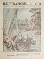 WWII - Settimanale - Illustrazione Del Popolo N. 46 - Distruggono Ravenna - 1944 - Autres