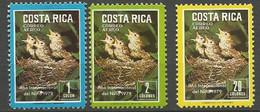COSTA RICA PA Yvert N° 719 à 721 NEUF** SANS CHARNIERE / MNH - Costa Rica