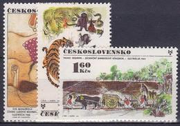 ** Tchécoslovaquie 1971 Mi 2029-31 (Yv 1867-9), (MNH) - Unused Stamps