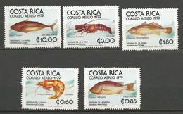 COSTA RICA PA Yvert N° 722 à 726 NEUF** SANS CHARNIERE / MNH - Costa Rica