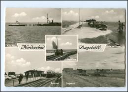 XX13777-2260/ Dagebüll Mit Bahnhof AK Ca.1960 - Sin Clasificación