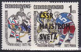 ** Tchécoslovaquie 1972 Mi 2084-5 (Yv 1917-8), (MNH) - Unused Stamps