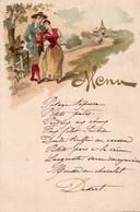 MENU FRANCESE - Menus