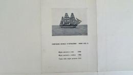 Nave Amerigo Vespucci 1932, Rara Cartina Del Viaggio Di Istruzione(ref 4155a) - Non Classificati