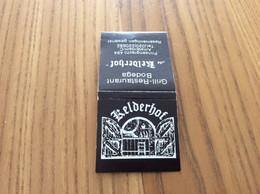"Pochette D'allumettes PAYS-BAS ""de Kelderhof Grill Restaurant Bodega - Amsterdam "" - Boites D'allumettes"