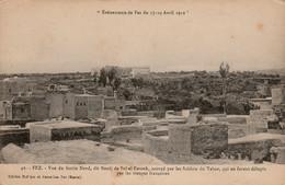 FEZ (Fès - Maroc) à Petit Prix - Emeutes Du Tabor En Avril 1912 - Fortin Nord  - Cpa Non écrite - Bon état - Fez