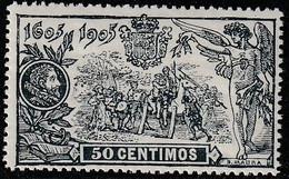 1905. ** Edifil: 263. III CENTENARIO DEL QUIJOTE - Neufs