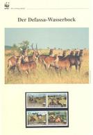 Guinea Bissau 2008 - WWF Der Defassa-Wasserbock - Komplettes Kapitel Postfrisch MK FDC - Unclassified