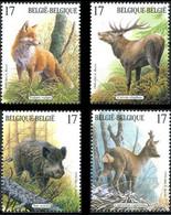 2748/2751** - Mammifères Des Ardennes / Zoogdieren Van De Ardennen -  Buzin - BELGIQUE / BELGIË - Unused Stamps