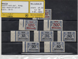 Germania Possedimenti - DANZIG 1923 - 2 - PROPHILA Busta Sigillata - Dantzig