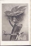 (pagine-pages)PUBBLICITA' PIRELLI   Le Vied'italia1942/12. - Altri