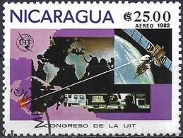 Nicaragua 1982 - Mi 2253 - YT Pa 978 ( Int. ITU Congress ) Airmail - Nicaragua