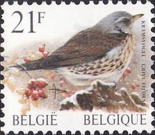 2792** - Grive Litorne / Kramsvogel - Gomme Jaunâtre / Geelachtige Gom (P5b) - Buzin - BELGIQUE / BELGIË - Unused Stamps