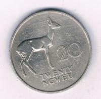 20 NGWEE 1968 ZAMBIA /3954/ - Zambia