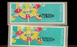 09 Spielzeug Hühner (3) ** Postfrisch, MNH, Neuf - Automatenmarken (ATM/Frama)