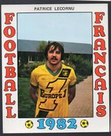 FOOTBALL FRANCAIS 1982 :  PATRICE LECORNU   (Nantes) (PPP28797E) - Sports