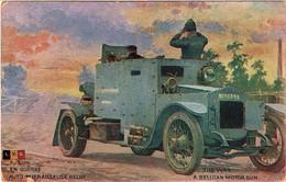 Armée Belge. Automitrailleuse Minerva - Oorlog 1914-18