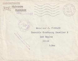 RTF PARIS 120 MAISON DE L'ORTF. Bureau Intérêt Privé Gérance Gratuite - Mechanical Postmarks (Other)