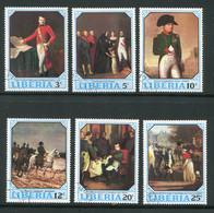 LIBERIA- Y&T N°499 à 504- Oblitérés (Napoléon) - Liberia
