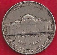 ETATS-UNIS - 5 CENTS - 1960 - 1938-…: Jefferson